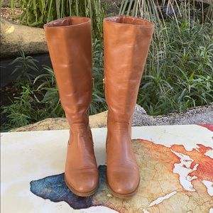 Coach Mirriam leather boots size 8B.